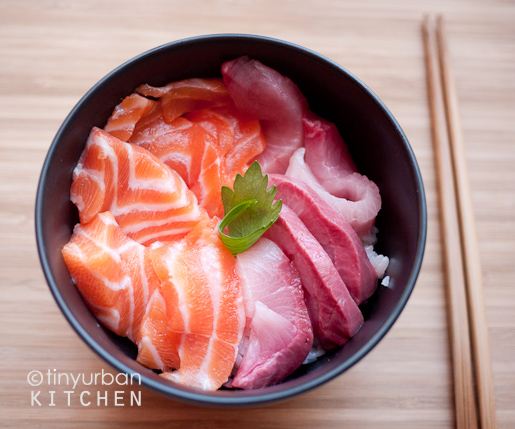 Homemade Chirashi (New Deal Fish Market)