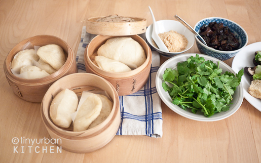 Homemade Baos (Steamed buns)