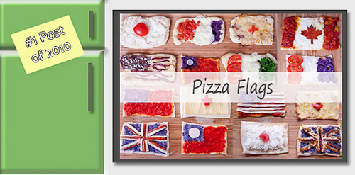 pizza flags
