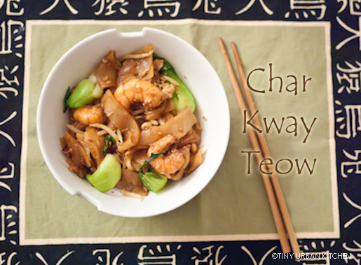 Char Kway Teow (Chinese Stir Fry Rice Noodles)