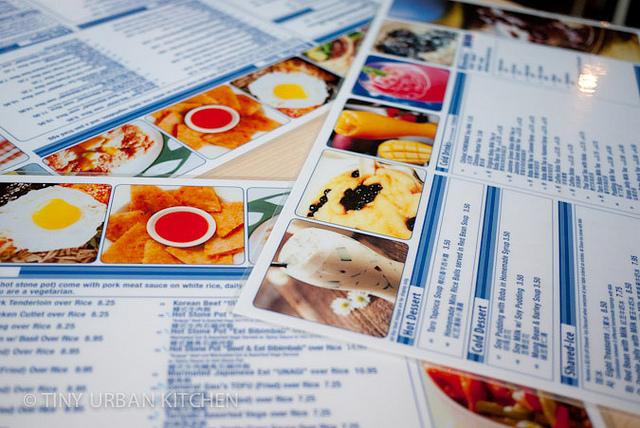 Blue Asia Cafe menus