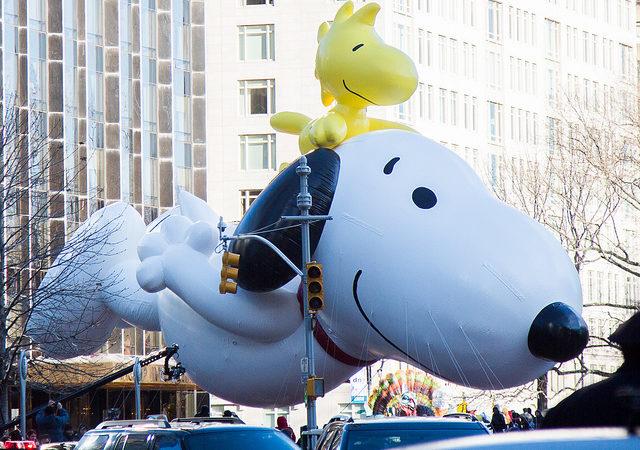 Snoopy Thanksgiving Balloon