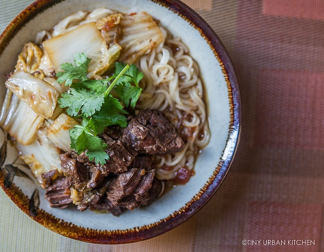 Quick & Easy Taiwanese Beef Noodle Soup (in a pressure cooker!)