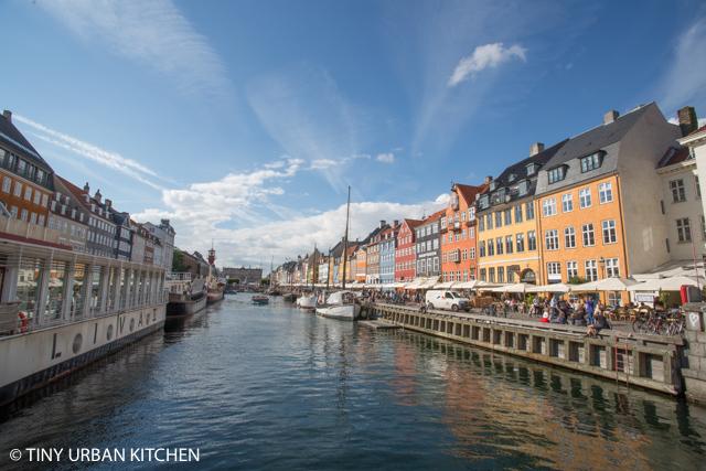 Copenhagen tiny urban kitchen